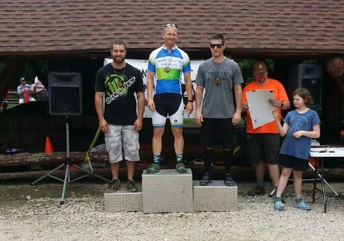 Borkowski took 1st with an impressive lap time of 40:11.