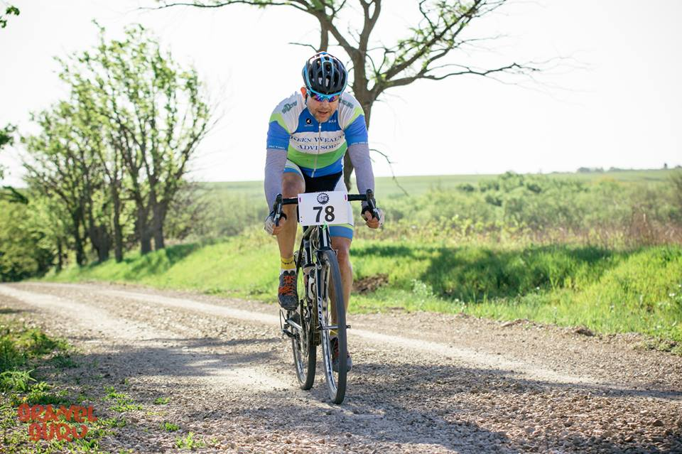 Kleidosty making his way to the lead group. Photo credit: Gravel Guru