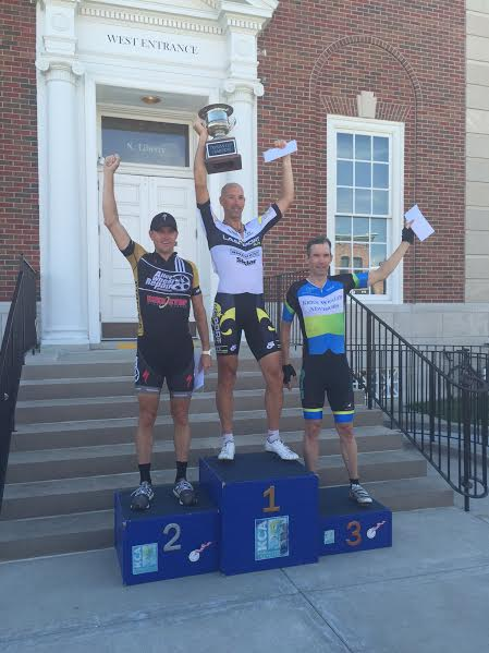 Jim Clevenger on the Truman Cup omnium podium!